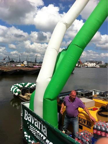 Ballonslinger 6m Rotterdam Amsterdam Gaypride 2011