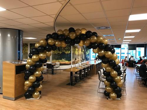 Ballonboog 6m Hoge School Rotterdam Rochussenstraat