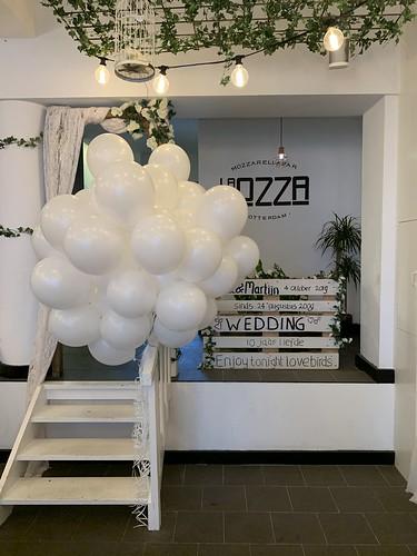Heliumballonnen La Mozza Rotterdam