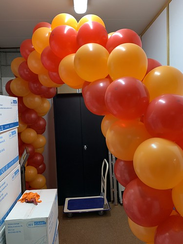 Ballonboog 6m Euro Caps Koffiecupjes Rotterdam