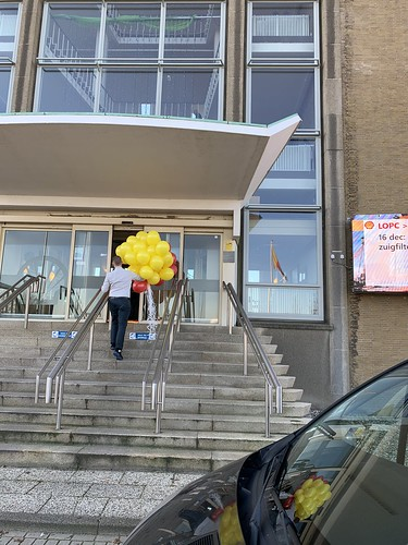 Heliumballonnen Shell Pernis Rotterdam