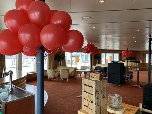 Heliumballonnen Douwe Egberts Grand Ballroom Ss Rotterdam