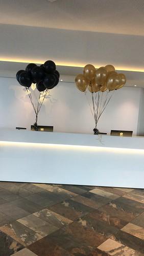 Heliumballonnen Intell Hotel Mainport Rotterdam