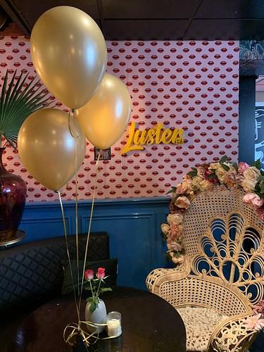 Tafeldecoratie 3ballonnen Luster Rotterdam