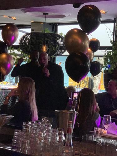 Tafeldecoratie 3ballonnen The Oysterclub Rotterdam The Brunch Met Quido Van De Graaf En Re Play