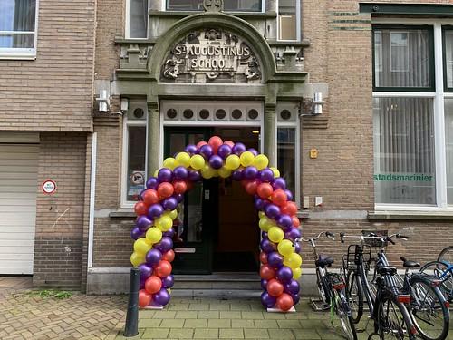 Ballonboog 6m St Augustinus School Rotterdam