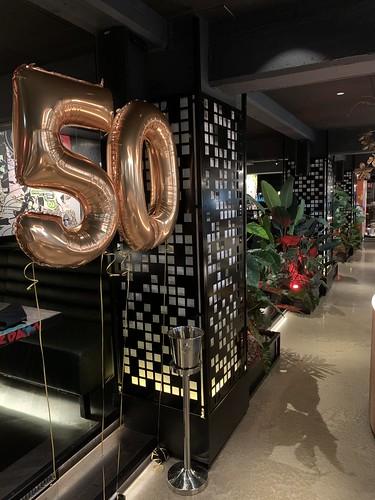 Folieballon Cijfer 50 Vandal Rotterdam