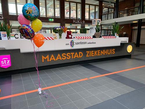 Ballonboeket Bee Well Beterschap Maasstad Ziekenhuis Rotterdam
