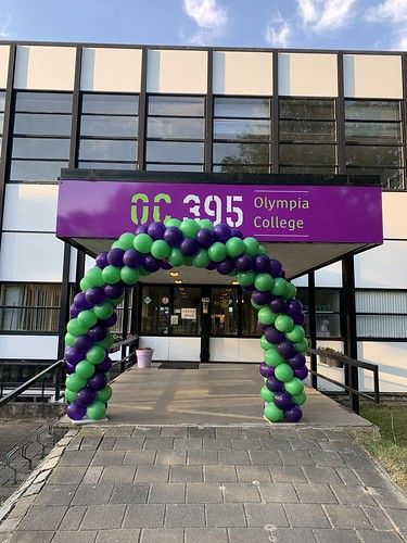 Ballonboog 6m Opening Olympia College Rotterdam