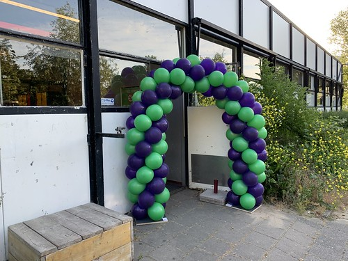 Ballonboog 5m Opening Olympia College Rotterdam