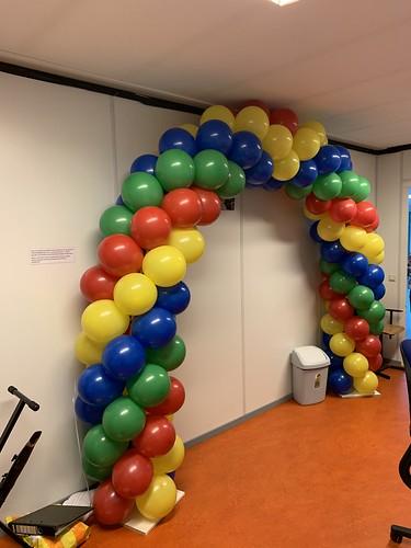 Ballonboog 6m Diplomering Mytylschool De Brug Vso Rotterdam