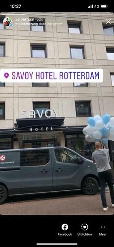 Heliumballonnen Savoy Hotel Rotterdam
