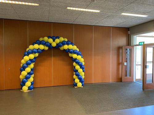 Ballonboog 6m Montessori Lyceum Rotterdam