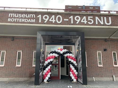 Ballonboog 6m Museum Rotterdam Locatie Coolhaven