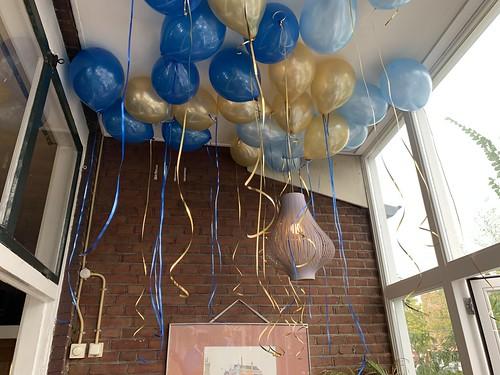 Heliumballonnen Cafe Soif Rotterdam
