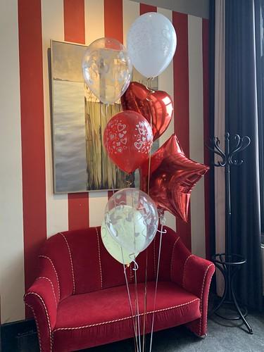 Ballonboeket Liefde Hotel New York Rotterdam