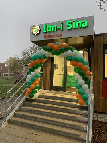 Ballonboog 6m Basisschool Ibn I Sina Rotterdam