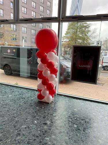 Ballonpilaar Breed Rond Luxor Theater Rotterdam
