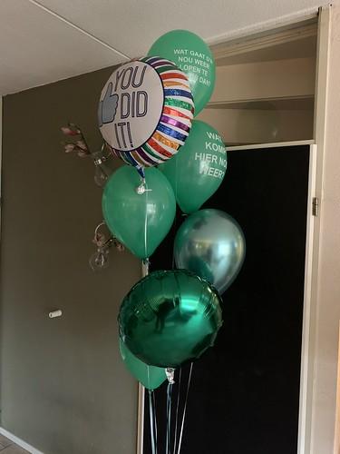 Ballonboeket Opening Rotterdamse Ballonnen