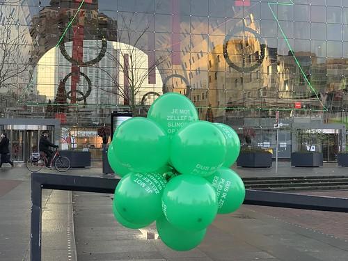 Ballontoef Markthal Rotterdam Rotterdamse Ballonnen