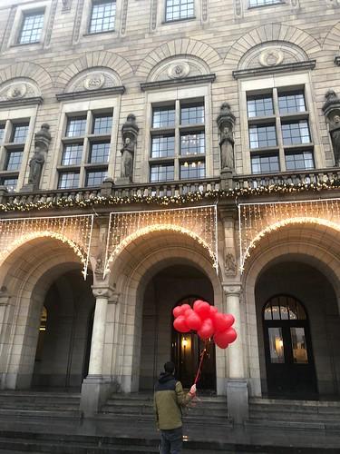 Heliumballonnen Hartballonnen Huwelijk Trouwen Stadhuis Rotterdam