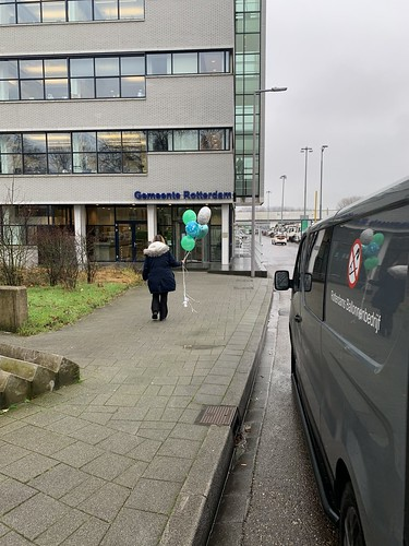 Ballonboeket Bedankt Sterker Door Strijd Handhaving Rotterdam