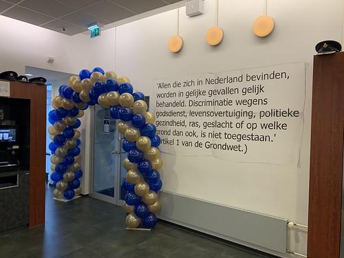 Ballonboog 6m Welkom Nieuwe Leerlingen Politie Academie Rotterdam