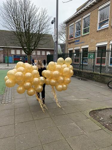 Heliumballonnen Bogermanschool Rotterdam