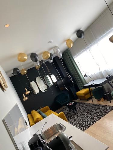 Heliumballonnen Huwelijksaanzoek The James Hotel Rotterdam