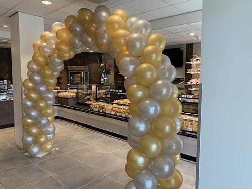 Ballonboog 6m Banketbakkerij Van Beek Specker Slinge Rotterdam