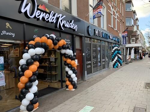 Ballonboog 6m Opening Wereldkruiden Rotterdam