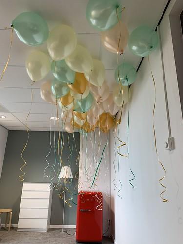 Heliumballonnen Robecotoren Rotterdam