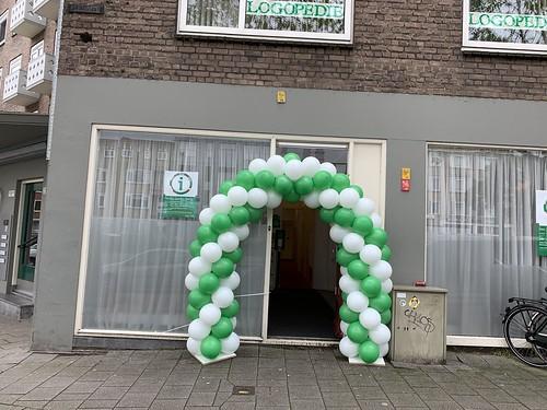 Ballonboog 5m Infopunt Pleinweg Gemeente Rotterdam