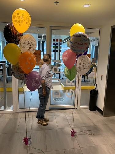 Ballonboeket Bedankt Dupi Group Rotterdam
