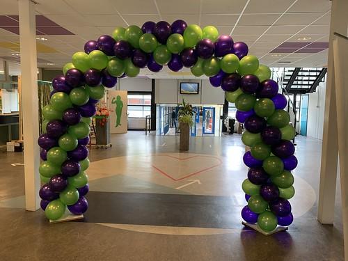 Ballonboog 6m Olympia College Rotterdam