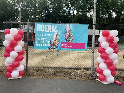 Ballonpilaar Breed Voetbalvereniging Rvv Coal Rotterdam