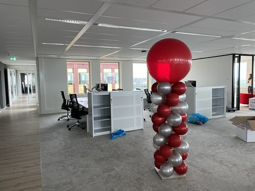Ballonpilaar Breed Rond Fagron Rotterdam
