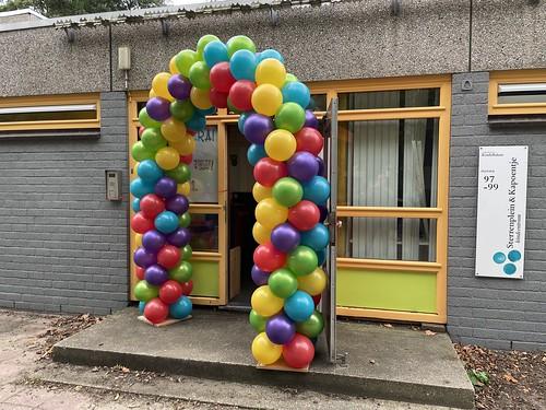 Ballonboog 6m Kinderdam Hoogvliet Rotterdam