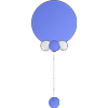Reuzeballon met Helium