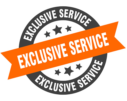 Exclusive Service