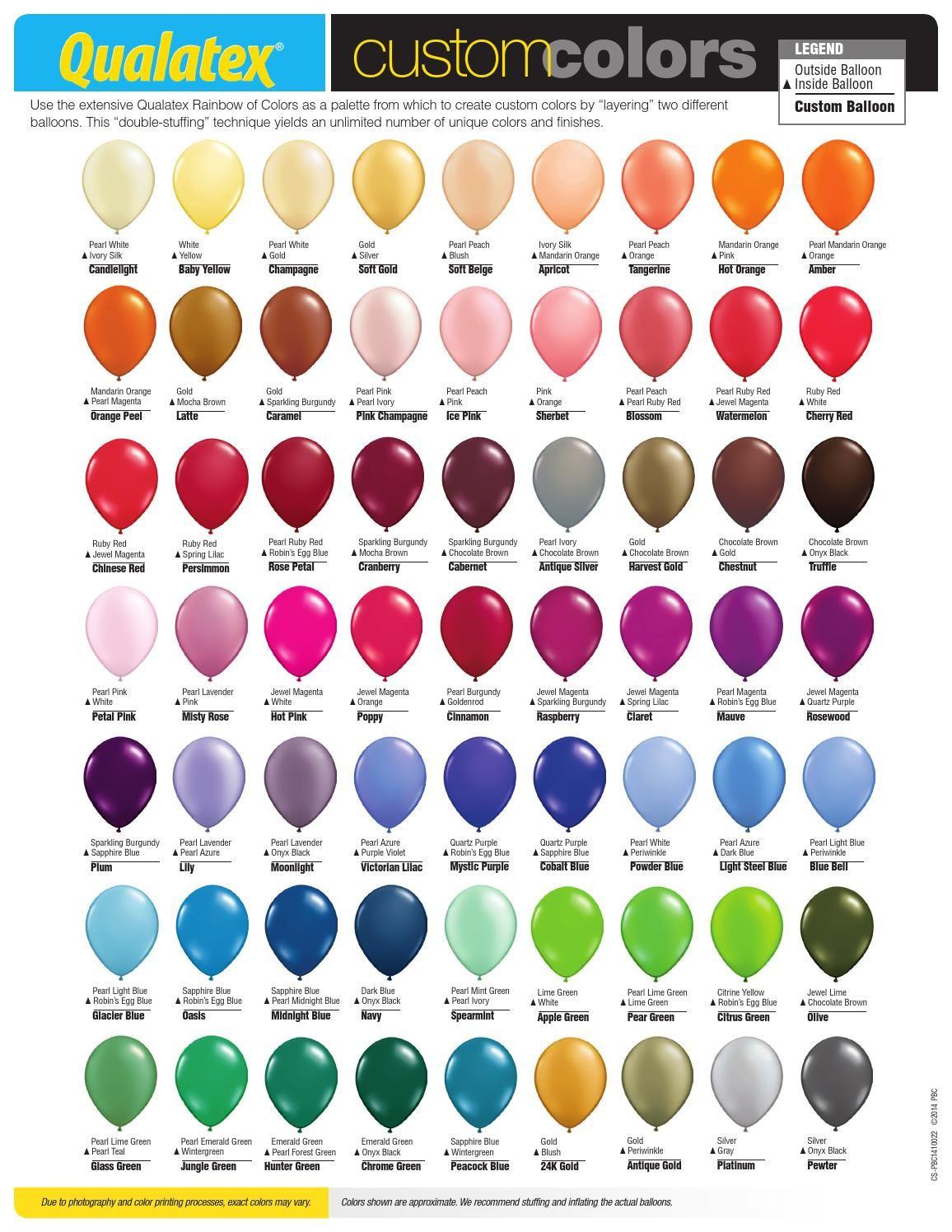 Custom Kleurenkaart